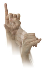 Letter J in ASL