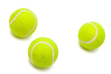 modern tennis balls