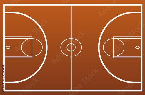 terrain de basket fichier vectoriel libre de droits sur la banque d 39 images image. Black Bedroom Furniture Sets. Home Design Ideas