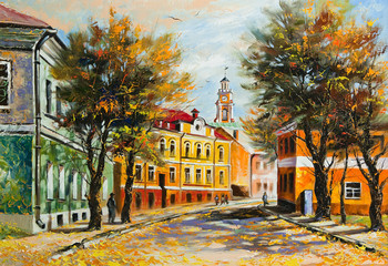 Ancient Vitebsk in the autumn