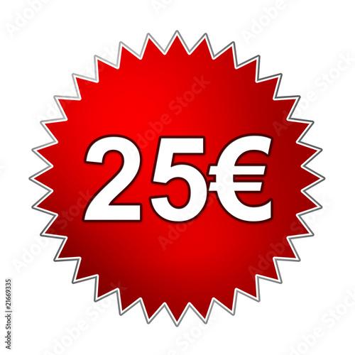 button 25 euro stockfotos und lizenzfreie bilder auf bild 21669335. Black Bedroom Furniture Sets. Home Design Ideas