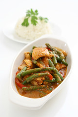 Spicy Chicken and Long Beans