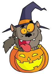 Halloween werewolf