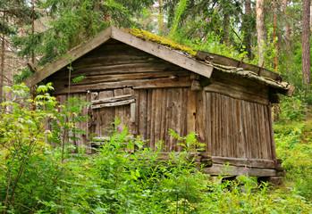 Old finnish barn