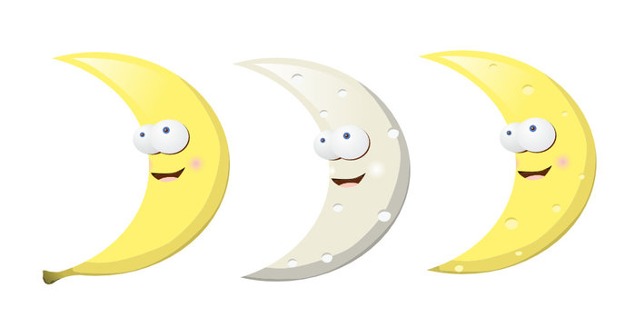 banana moon cheese