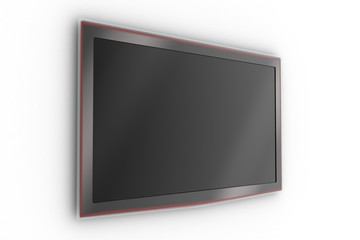 Wall-mounted stylish LCD TV