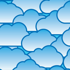 Abstract day clouds background