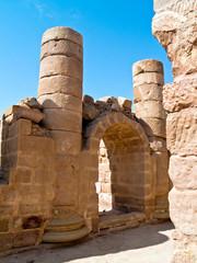 Roman ruins - Petra, Jordan