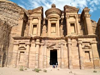 Monastery tomb - Petra,Jordan