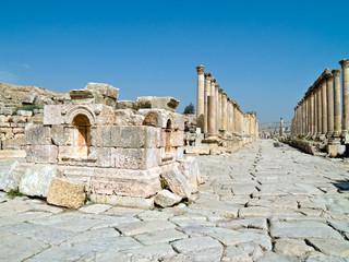 The Forum in Jerash, Jordan.