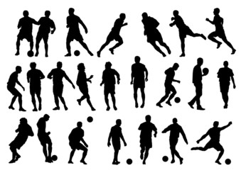 23 Football  player silhouette