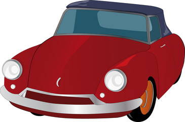 the red car from grand-dad's fairy tales