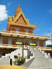Classic khmer architecture, Phnom Penh, Cambodia