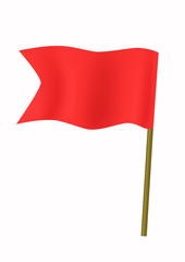 Red small flag