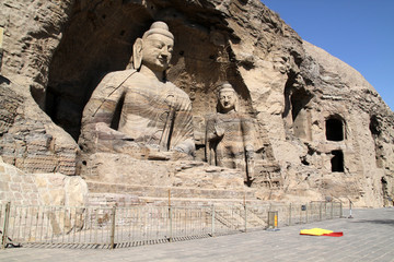 Buddha Stone Carving of Yungang grottoes