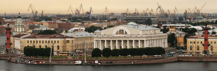 Panorama of city. St. Petersburg, Russia