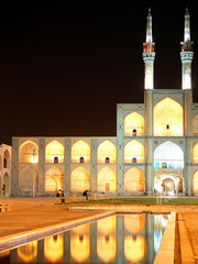 Amir Chakhmagh Mosque in Yazd, Iran
