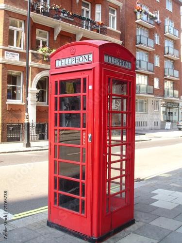 Cabine t l phonique londres photo libre de droits sur la banque d - Acheter cabine telephonique ...