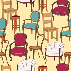 Chairs background