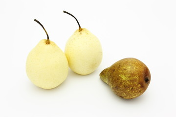 Pears beautiful and ugly