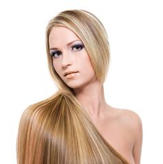 beautiful blond hairs