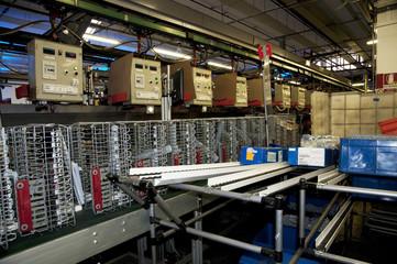 Fabbrica di lavastoviglie - catena di montaggio
