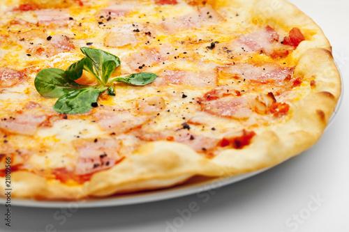 Пицца карбонара рецепт с фото