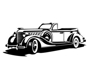vector old car