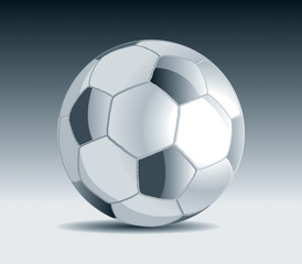 Metal Soccer Ball