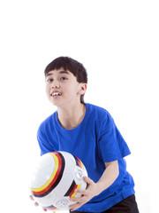 kinder fussball training