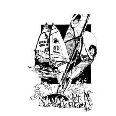 windsurf, illustration