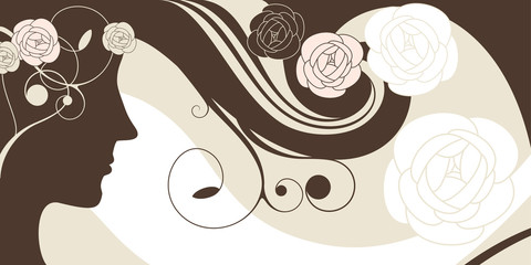 abstract vector cute background
