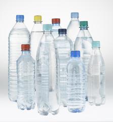 PET Mineralwasserflaschen