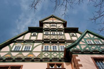 Fachwerkfassade Hannover
