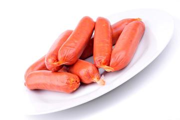 Assiette de chorizos à cuire