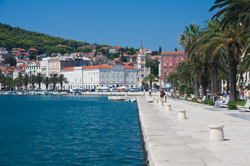 Foto op Plexiglas Nice Split city view, Croatia