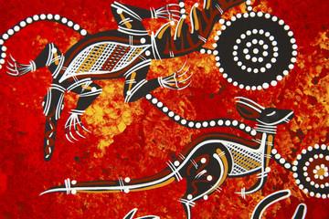 Aboriginal style design