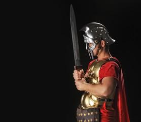 Spoed Foto op Canvas Ridders Legionary soldier with gladius