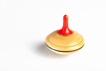 Spinning whirligig, spinner, isolated on white background