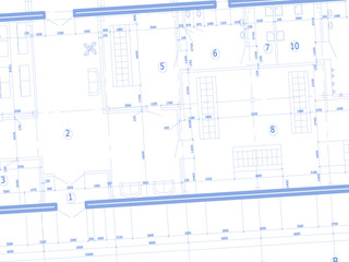 The plan of building