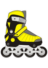 Extreme Sports Rollers Skates