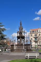 Fototapeten Fontane Fontaine d'Amboise (Clermont-Ferrand)