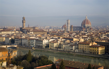 Florence - in morning light from Piazza Michelangelo