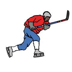 hockey, illustration