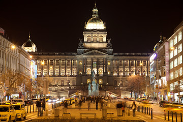 Praga . Piazza Venceslao