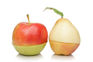 Nashi Pear and Apples on variation