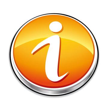 Orange Information button