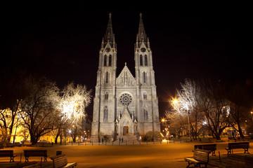 Praga - Chiesa di Santa Ludmilla