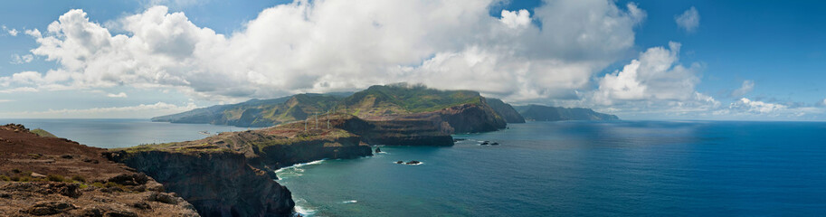 Scenery at Sao Lourenco,the most eastern part of Madeira