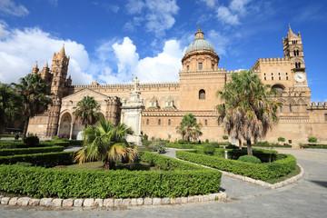La pose en embrasure Palerme Palermo cathedral, Sicily, Italy